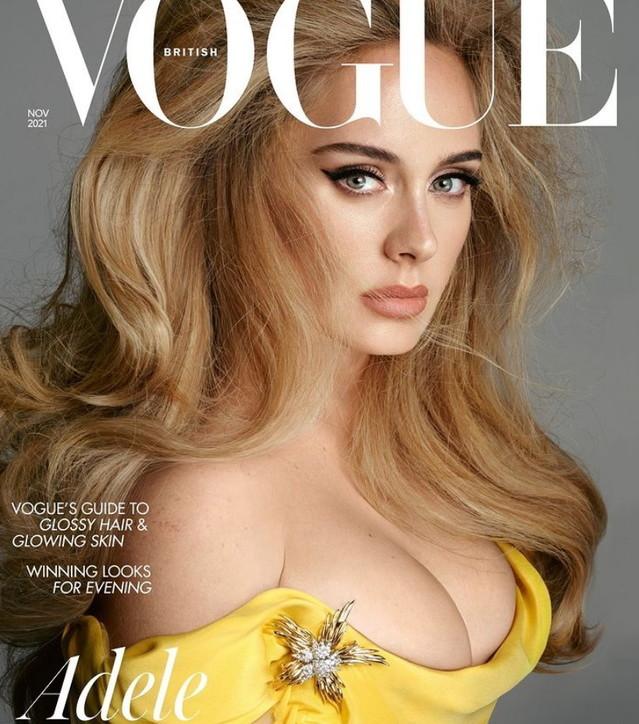 Adele bomba sexy su Vogue Uk