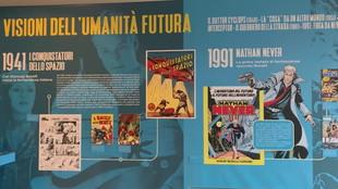 Milano, la mostra per gli 80 anni di fumetti Bonelli alla Fabbrica del Vapore