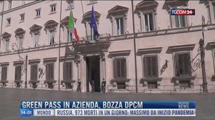 Breaking News delle 14.00 | Green pass in azienda, bozza dpcm
