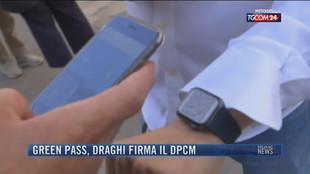 Breaking News delle 21.30 | Green pass, Draghi firma il dpcm