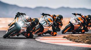 KTM nuova gamma RC 2022