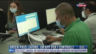 Breaking News delle 09.00 | Green pass lavoro, un'app per i controlli
