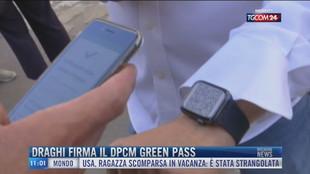 Breaking News delle 11.00 | Draghi firma il dpcm green pass