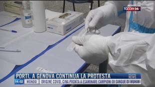 Breaking News delle 14.00 | Porti, a Genova continua la protesta
