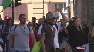 Manifestazione Cgil, pericolo caos