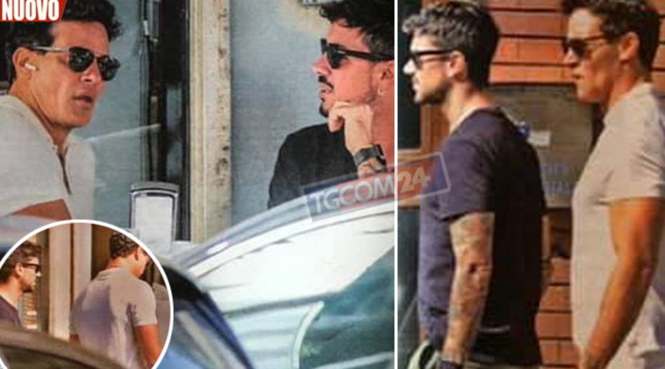 """Gabriel Garko sorpreso con il fidanzato: """"Mi piacerebbe diventare padre"""""""