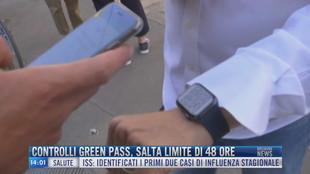 Breaking News delle 14.00 | Controlli Green Pass, salta limite di 48 ore