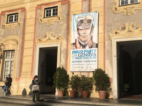 Genova, a Palazzo Ducale la mostra dedicata a Hugo Pratt