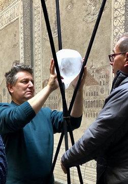 """""""Grido d'acqua"""", a Milano l'esposizione d'arte ambientale di Marco Nones"""