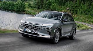 Hyundai Nexo, l'auto a idrogeno