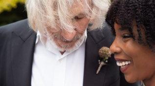 Guarda gli scatti delle quinte nozze di Roger Waters