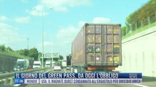 Breaking News delle 11.00 | Il giorno del green pass, da oggi l'obbligo