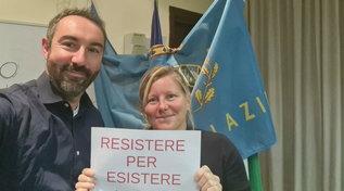 Green pass, gli ex M5s Barillari e Cunial occupano gli uffici della Regione Lazio
