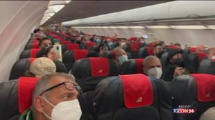 Ita-Alitalia, primo e ultimo volo