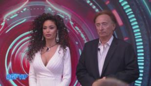 """GF Vip"", eliminato Amedeo Goria: quattro donne in nomination"