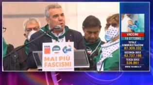 """Sindacati, Sbarra: """"Il governo raccolga la sfida della piazza"""""""