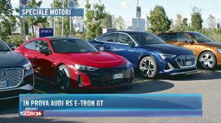 In prova Audi RS e-tron GT