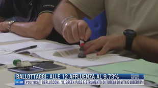 Breaking News delle 14.00 | Ballottaggi: alle 12 affluenza al 9,73%