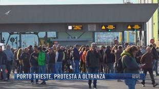 Breaking News delle 21.30 | Porto Trieste, protesta a oltranza