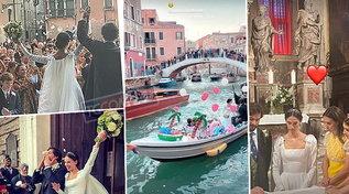 A Venezia le nozze di Vera Arrivabene, figlia della principessa di Savoia