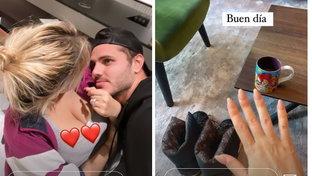Mauro Icardi smentisce la rottura da Wanda: foto social insieme
