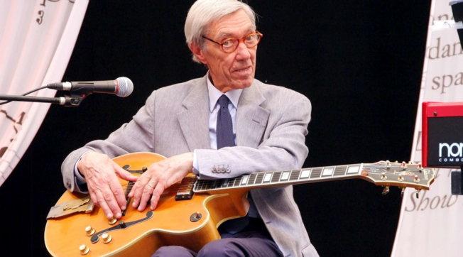Addio a Franco Cerri, grande chitarrista del jazz italiano