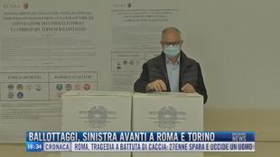 Breaking News delle 16.00 | Ballottaggi, sinistra avanti a Roma e Torino