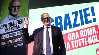 Gualtieri sindaco di Roma:ringrazio avversari, Calenda per idee e Raggi per impegno