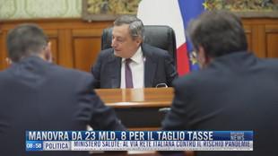 Breaking News delle 9.00 | Manovra da 23 mld, 8 per il taglio tasse