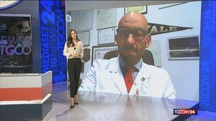 """Bassetti a Tgcom24: """"Bene sui vaccini, se continuiamo così via misure restrittive dal 2022"""""""