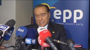"""Berlusconi: """"Draghi ottimo per il Quirinale ma è più utile per finire il lavoro"""""""