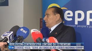 Breaking News delle 17.00 | Berlusconi: centrodestra lontano da estremismi