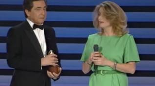 """Buon compleanno Catherine Deneuve: rivediamola ai """"Telegatti"""" 1990"""