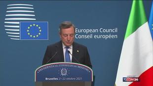 """Draghi: """"No al finanziamento Ue per i muri"""""""