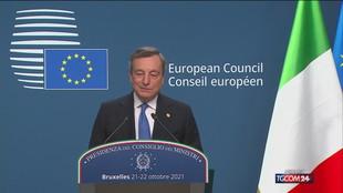 """Polonia, Draghi: """"Mantenere il dialogo aperto"""""""