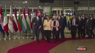 Ultimo Consiglio Ue con Angela Merkel