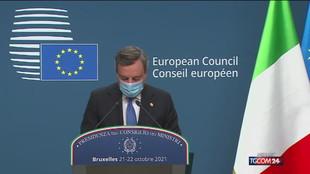 Vertice Ue, l'ultimo con Merkel | Draghi: No a muri anti-migranti