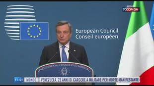Breaking News delle 11.00 | Draghi boccia quota 100