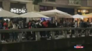 A Milano risse, botti e feste per strada: movida senza controlli