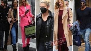 A Milano a caccia di acquisti, da Emma a Justine Mattera