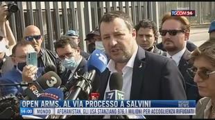 Breaking News delle 14.00 | Open Arms, al via processo a Salvini