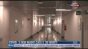 Breaking News delle 18.00 | Covid, 3.908 nuovi casi e 39 morti