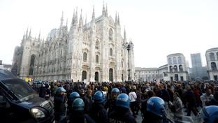 Green pass, manifestazioni in tutta Italia