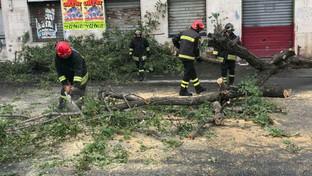 Ondata di maltempo sulla Sicilia: vigili del fuoco in azione