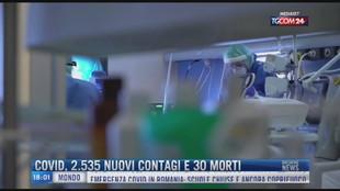 Breaking News delle 18.00 | Covid, 2535 nuovi casi e 30 morti