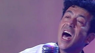 """L'esibizione di Edoardo Bennato a """"Vota la Voce"""" 1990 con """"Buon compleanno bambina"""""""