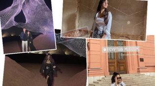 """Giulia De Lellis in """"luna di miele"""" in Egitto con Carlo"""
