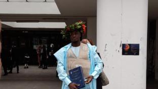 Benevento, ex migrante arrivato col barcone realizza il sogno di laurearsi