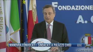 Breaking News delle 14.00 | Manovra, convocati i sindacati a Palazzo Chigi