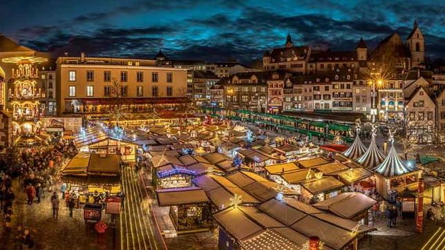 Mercatini delle città svizzere